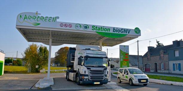 Station-service Karrgreen de bioGNV.