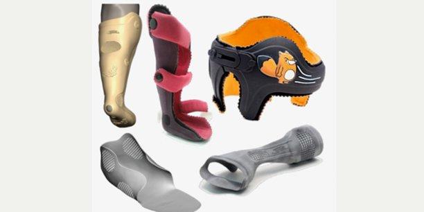 Les orthèses réalisées en impression 3D par AnatoScope et Ottobock, désormais partenaires.