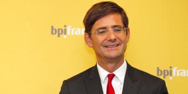 Nicolas Dufourcq, le directeur général de la banque publique d'investissement depuis sa création fin 2012.