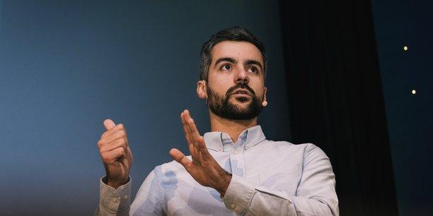 Thomas Devineaux, cofondateur de la start-up Louis, ambitionne de dépasser la barre symbolique du million d'euros de chiffre d'affaires.