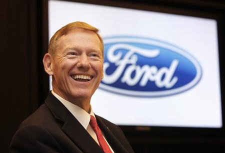 Alan Mulally, PDG de Ford. Copyright Reuters