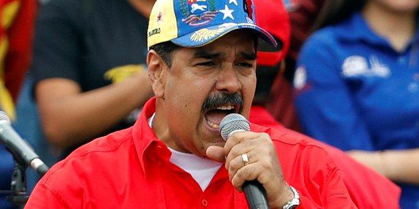 Le président Maduro.