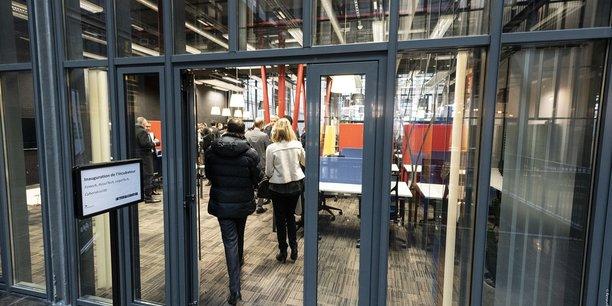EuraTechnologies a inauguré à Lille un nouvel incubateur dédié aux startups de la finance, de l'assurance, du droit et de la cybersécurité.