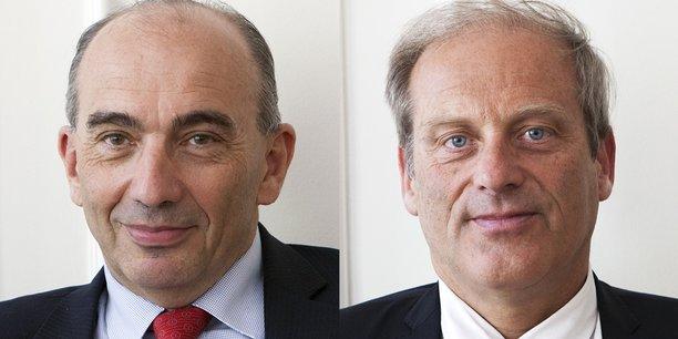 Jean-Luc Fallou et Jacques Lefevre.