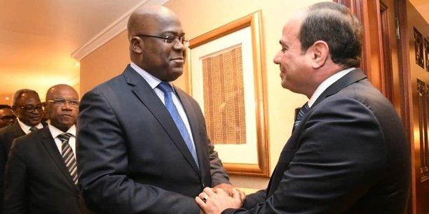 Félix Tshiskedi a déjà eu des entretiens bilatéraux avec l'Ivoirien Alassane Ouattara ou encore avec l'Egyptien Abdel Fattah Al-Sissi, qui a pris le relais du Rwnadais Paul Kagame à la présidence en exercice de l'UA.