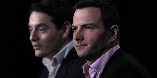 Jérôme Kerviel, avec son avocat David Koubbi, Copyright Reuters