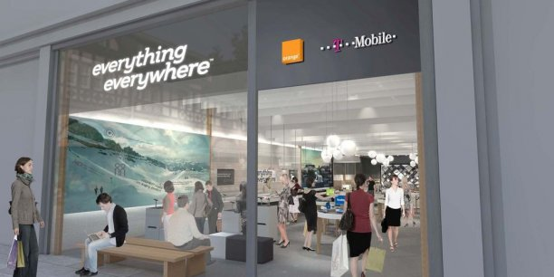 Everything Everywhere, rebaptisé EE, est l'opérateur né de la fusion d'Orange et de T-Mobile au Royaume-Uni. DR