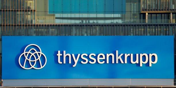 Thyssenkrupp: le benefice d'exploitation plonge de 26% au premier trimestre[reuters.com]