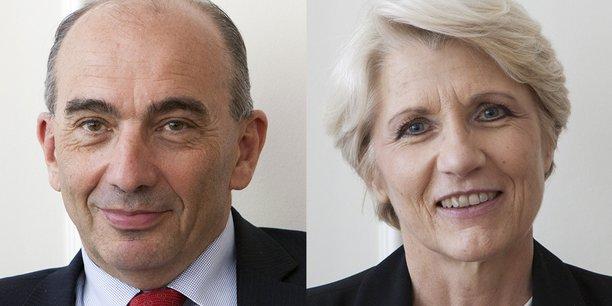 Jean-Luc Fallou et Brigitte Wartelle.