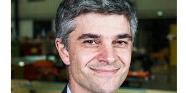 Yann Jaubert, Président d'Alfi Technologies, au Pin-en-Mauges (Maine et Loire).