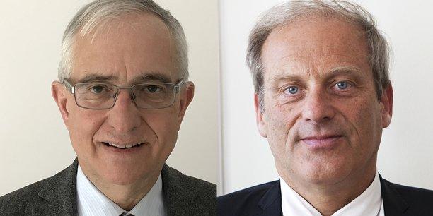 Gilbert Font et Jacques Lefèvre.