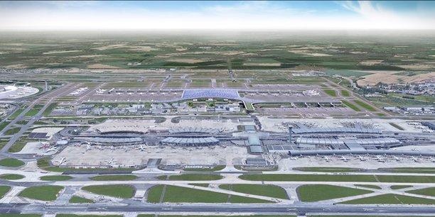 À l'issue de la livraison complète du nouveau terminal, prévue en 2037, Roissy-Charles-de-Gaulle pourra accueillir 120 millions de passagers par an, contre 72 millions aujourd'hui.