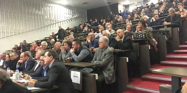 MBS a accueilli, le 15 février, la réunion des consulaires et syndicats patronaux organisés dans le cadre du Grand débat
