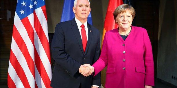 Usa: pence presse les europeens sur l'iran et le nordstream[reuters.com]