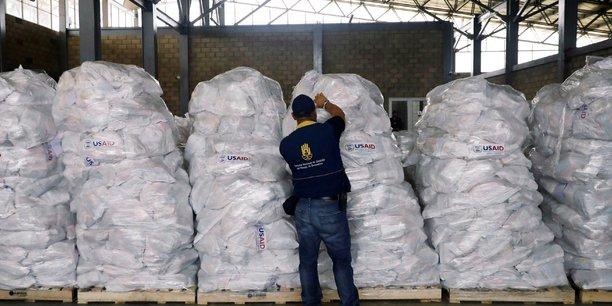 Nouvel arrivage d'aide humanitaire en faveur du venezuela[reuters.com]