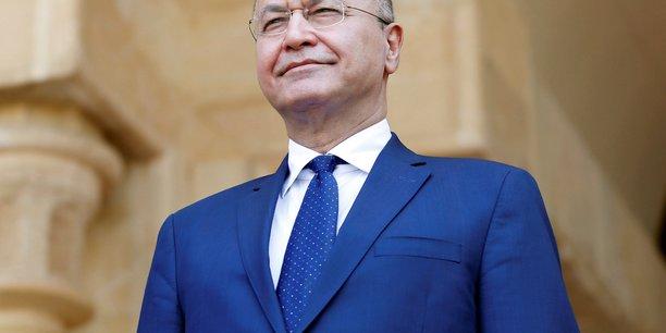 Le president irakien saleh recu par macron le 25 fevrier[reuters.com]