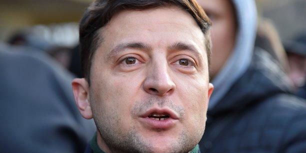 Le comedien zelenski favori de la presidentielle ukrainienne[reuters.com]