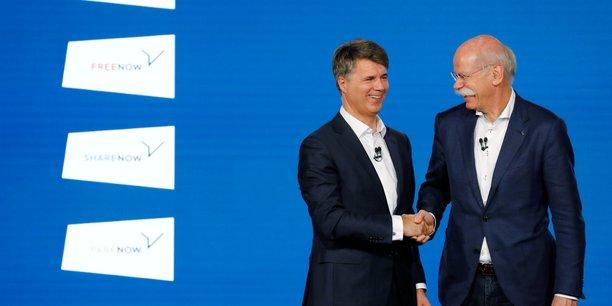 Daimler et bmw renforcent leur alliance dans la mobilite[reuters.com]