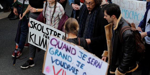 Greta thunberg porte a paris la greve des etudiants pour le climat[reuters.com]