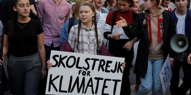 Greta Thunberg à Paris le 22 février