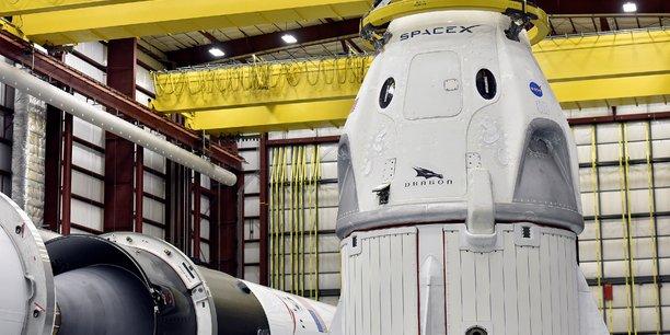 Space X : explosion d'une capsule Crew Dragon lors d'un essai statique