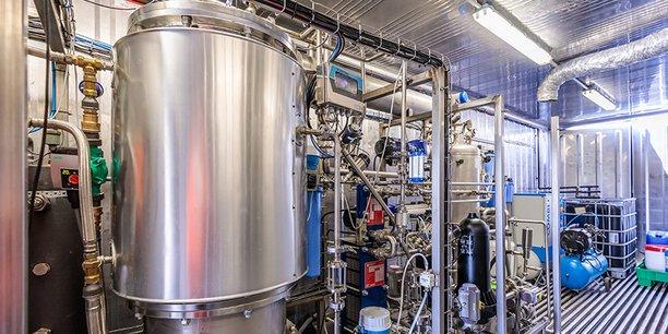 Un des extracteurs d'eau construits par Nereus