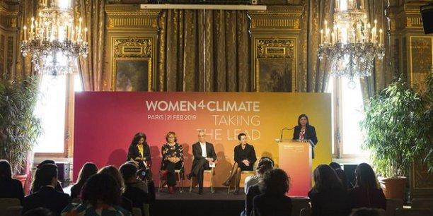 La conférence Women4Climate réunit les femmes du monde entier,leader et actrices dans le combat contre le dérèglement climatique.