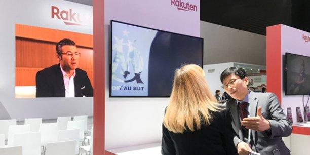 Rakuten Aquafadas s'expose pour la 1e fois sur son propre stand au MWC