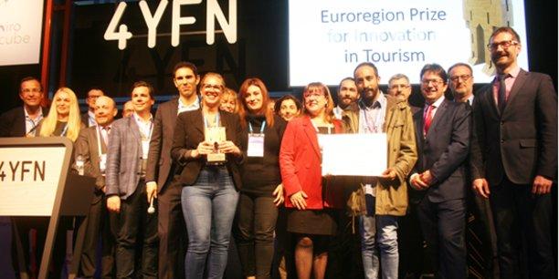 Les finalistes du concours Miro in Cube, dont la 2e édition se déroulait au MWC