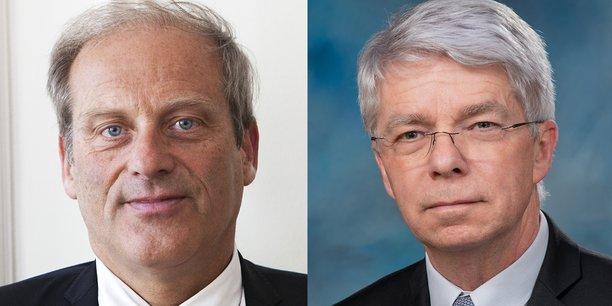 Jacques Lefevre et Bernard Planchais.