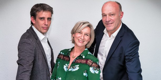 Jérôme Beillevaire, Anita Cailleteau et Xavier Pinse