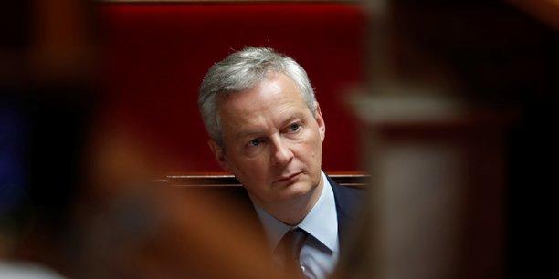 Cette taxe touchera les très grandes entreprises qui font un chiffre d'affaires mondial sur leurs activités numériques de 750 millions d'euros au niveau mondial et un chiffre d'affaires en France de plus de 25 millions d'euros, et ne concerne donc pas les start-ups françaises, explique le ministre.