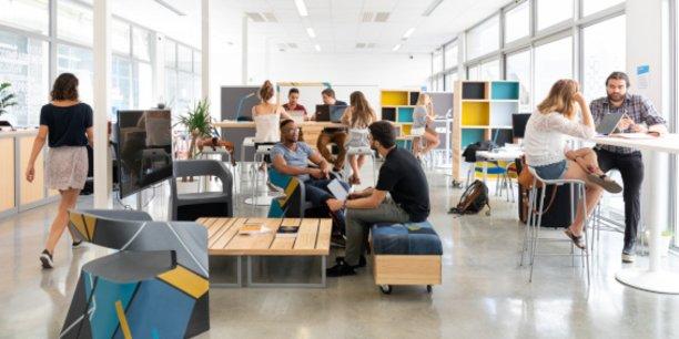 UBee Lab propose aux étudiants-entrepreneurs un espace de coworking de 140 m2 rive droite à Bordeaux