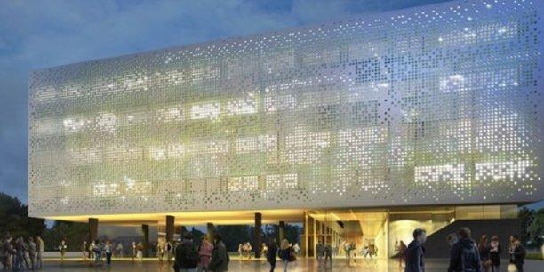 Un des chantiers à venir : le Village des Sciences A, livrable en 2019