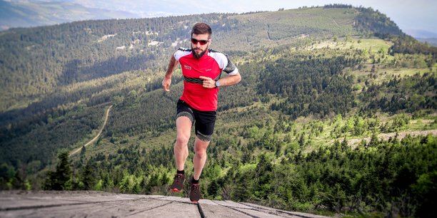 La première chaussure de TRAIL Running à drop progressif