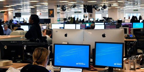 Ces annonces de Thomson Reuters s'inscrivent dans une politique globale de réduction des effectifs qui affecte particulièrement les services domestiques en allemand, espagnol, russe ou italien, notamment. (photo : la rédaction londonienne)