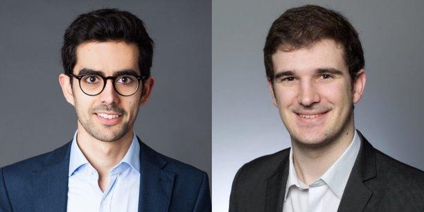 De gauche à droite, Clément Jeanneau et Alexandre Stachtchenko