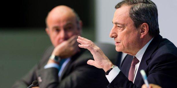 Mario Draghi, le président de la Banque centrale européenne (BCE), ce jeudi 7 mars.