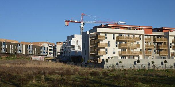 Le quartier des Grisettes, à l'ouest de Montpellier.