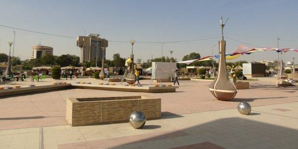 N'Djamena, ville particulièrement touchée la pénurie de gaz butane.