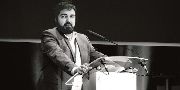 Julien Villalongue, directeur de Leonard, plateforme de prospective et d'innovation du groupe Vinci.