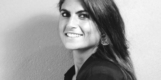 Athéna Caperonis, dirigeante de l'agence ASB