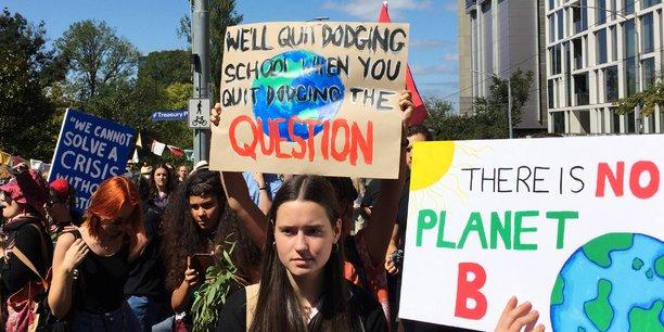 Un défilé mondial pour réclamer des actions fortes — Climat