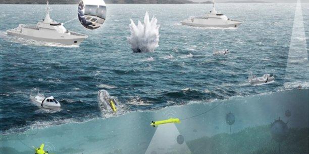 Naval Group coule le consortium français STX/Thales et le chantier néerlandais Damen