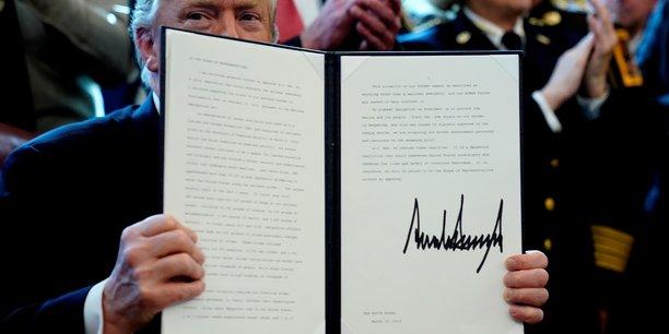 Urgence nationale: trump oppose son veto a la resolution du congres[reuters.com]