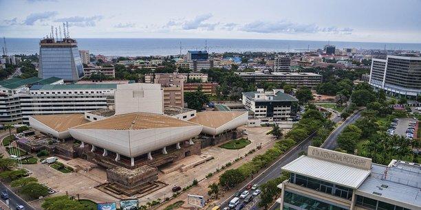Vue sur Accra, la capitale du Ghana.