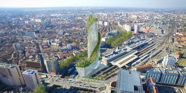 La Tour Occitanie a été intégrée à l'enquête publique du projet Teso.