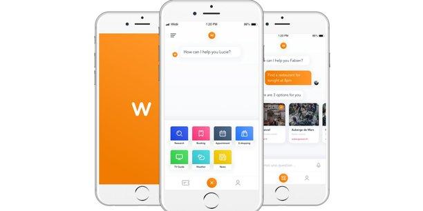 Wiidii propose une application hybride mêlant intelligence artificielle et compétences humaines