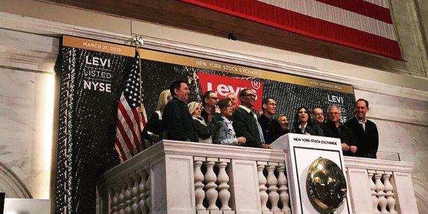 Les jeans Levi's cartonnent à la Bourse de New York