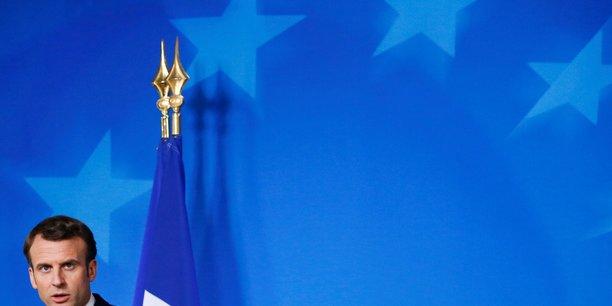Emmanuel Macron, le président de la République.